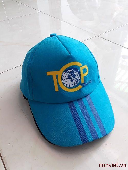 Mẫu thiết kết nón đồng phục cho Mobifone